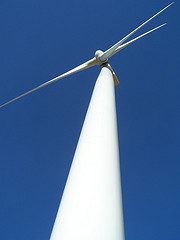 Wind turbine at Biglow Wind Farm