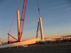 Windkraftindustrie
